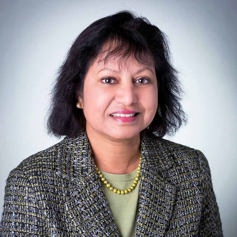A headshot of Asma Afsaruddin.