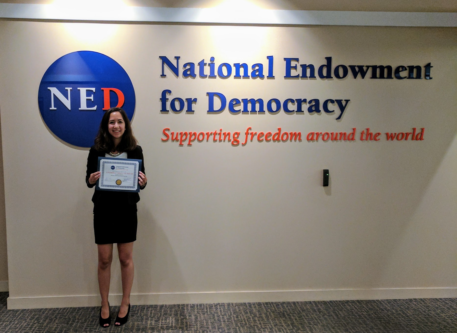Kate Adams, NED Intern