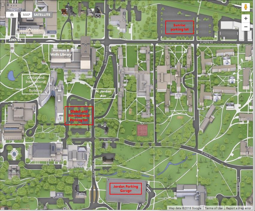 GISB Parking Map